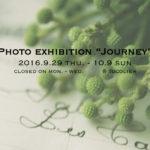【10/9 更新】写真展「Journey」